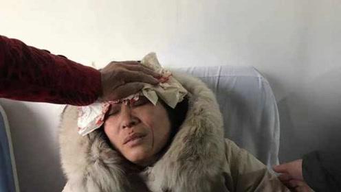 路牌突然倒塌,女老师用身体守护学生:被砸昏迷8小时