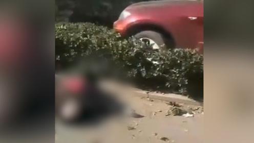 27岁宝马男撞人后弃车逃逸,被撞老人当场死亡