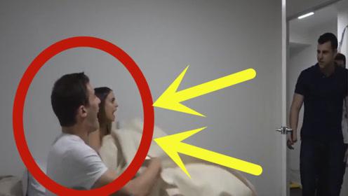 男子察觉不对劲,进卧室就看到床上的女友,瞬间明白了一切!