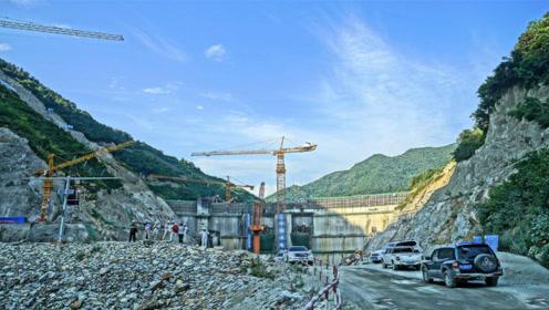 我国西北一输水工程,凿穿秦岭穿过十大山脉,把长江的水引到黄河