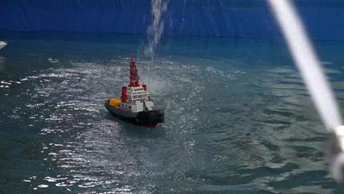 大学生研发船载水炮智慧眼:识别准跟踪快,可精准打击海盗