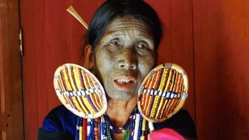 缅甸有一个神秘纹面族,都是女孩子太好看了,为了自保不得不这样做