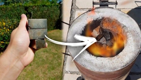 世界上磁性最强的磁铁,放进高温熔炉加热,会被消磁吗?