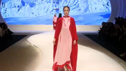 中国复古风的设计,穿着很显嫩,太好看了吧
