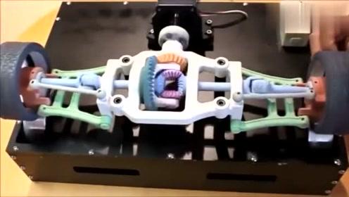 一个简单的模型,很清晰直观展示差速器的机械原理,你看懂了吗?