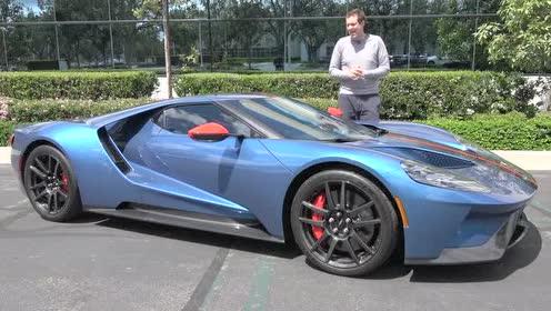 外国大哥带你来了解福特GT的内饰好不好?