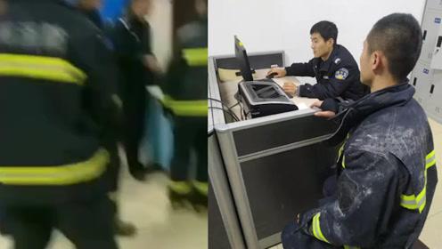 """寒心!扬州消防员救火时手机被盗,网友怒了:真""""趁火打劫"""""""