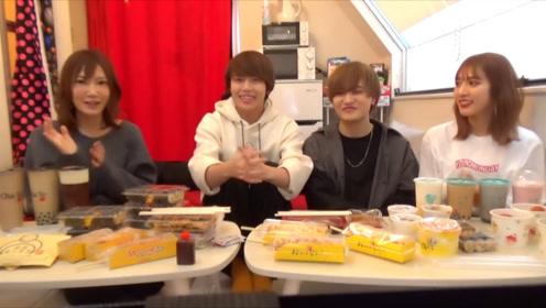【木下大胃王】与「三个一」组合的新大久保一万日元速食大挑战
