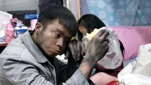 男子称老婆去世照顾孩子走红,原来都是故事,只是为吸粉丝!