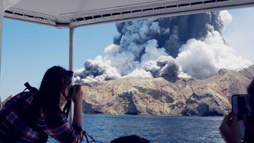 新西兰火山喷发确认5人死亡另有8人失踪 失踪者中或有中国游客