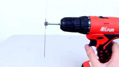 只要一把手电钻-没有什么事情不能干!