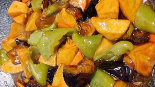 厨房小白也能学会的东北名菜,超级下饭的地三鲜!