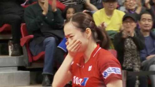 打破长达16个月的单打冠军荒!石川佳纯哭成泪人