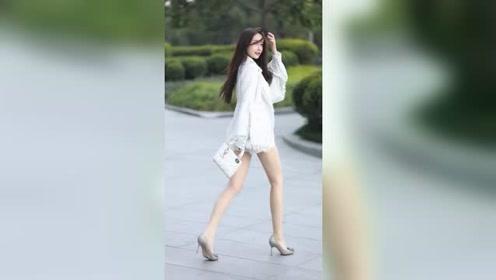 肤白貌美大长腿的小姐姐,月入多少才敢追她?