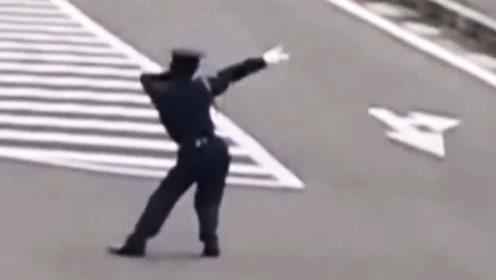 一言不合就尬舞 各国交警街头舞蹈大盘点