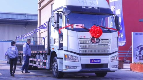 技术领先运输高效!长久中置轴20米平板家电专业运输车新品首发