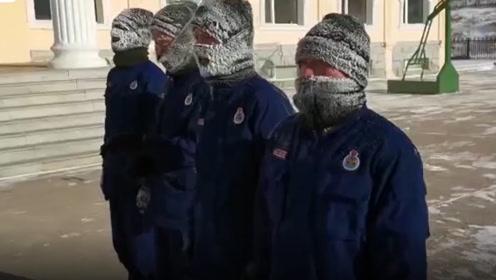 消防员零下36度训练成白眉大侠,消防员:常与水火抗衡,多冷都要练