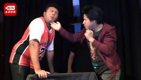 秘鲁举行南美洲首届打脸比赛 奖金约2000元 一男子被当场打晕