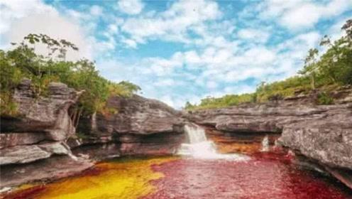神奇的五彩河流 一年仅有5个月如此绚烂 每天只能200人参观