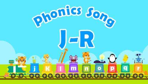 贝乐虎英文儿歌 20 Phonics Song J-R