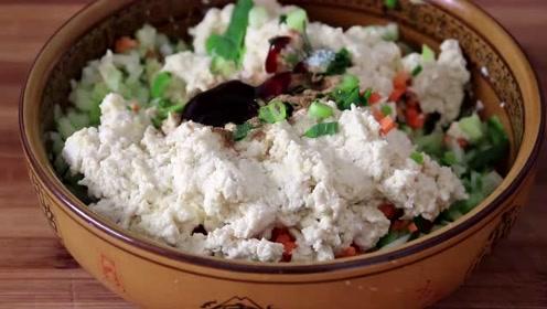 萝卜加豆腐,原来这么好吃,简单一做,外脆里香,真解馋!