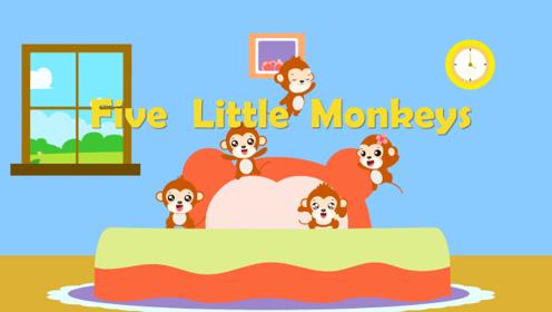 贝乐虎英文儿歌 13 Five Little Monkeys