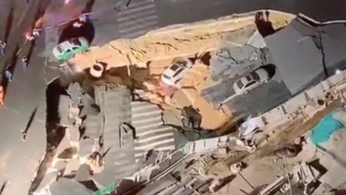厦门吕厝地铁站附近发生塌陷 亲历者讲述事故发生瞬间