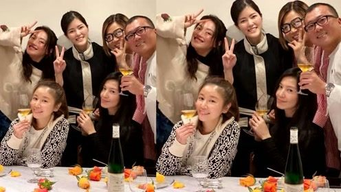 林心如舒淇与林熙蕾日本度假 看菜品网友直呼一般人真吃不起!