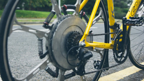 3个拥有特殊构造的自行车,无级变速自行车太惊艳了