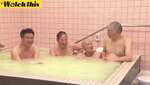 日本厚生大臣同原麻风病人共泡澡 有说有笑普及消除歧视偏见