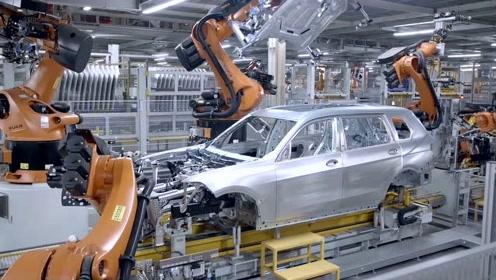 德国工厂实拍宝马X7生产全过程,网友果然贵有贵的道理