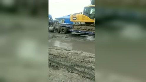 轮胎没准备好你就冲,不罢工才怪呢!