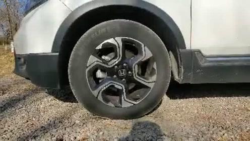 新车抢鲜看:本田CR-V轮圈配置,偏重经济性,双色搭配