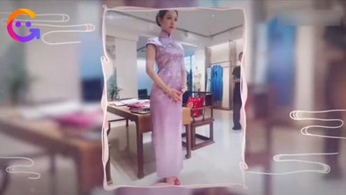 吉娜穿旗袍秀好身材,量三围时郎朗急忙挡镜头:老婆的神仙身材只能我看