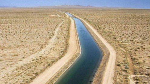 中国式奇迹:内蒙古大片沙漠被引进黄河水,没想到出现这样一幕