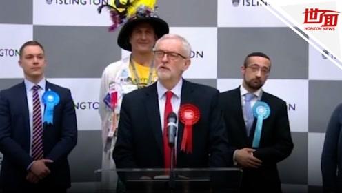 英国大选工党或面临惨败 党魁科尔宾苦笑宣布辞职