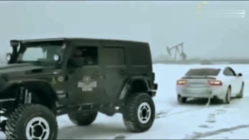 这不科学,Jeep牧马人居然被奥迪A7给完虐了!
