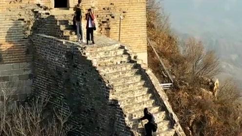 中国古代劳动者的智慧,长城到底有多险,不来长城一看你永远不知道