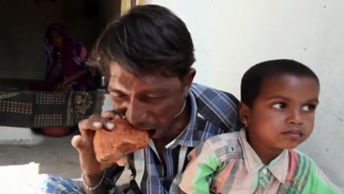 """男子可以不吃米饭,每餐只吃""""砖块"""",一天至少能吃5斤!"""