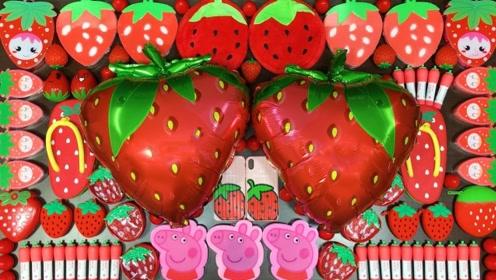 红色草莓系列材料混泥,无硼砂,得到超美的泥巴