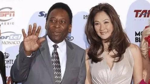 80岁贝利恋上小30岁日本娇妻,容光焕发,贝利:很幸福