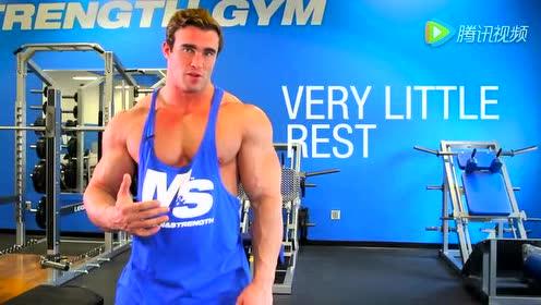 胸肌锻炼8分钟 无肌肉不男人