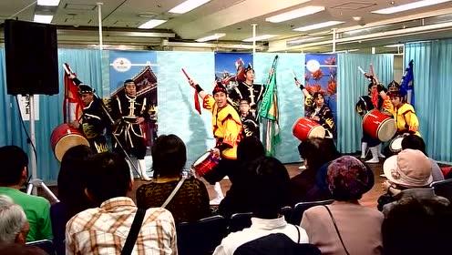 冲绳地方特色 《風の結人》太鼓表演