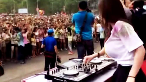 越南女DJ居然是这样的!现场引千万人狂跳