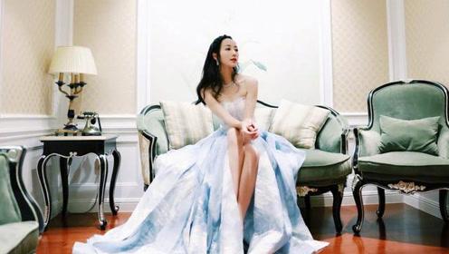 韩雪穿长裙圆仙女梦 除了这点之外其他都很完美