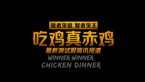 逗王 吃鸡真赤鸡08:最新测试服简讯报道