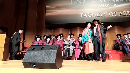 2017.12.2郎朗获颁香港大学社会科学名誉博士学位