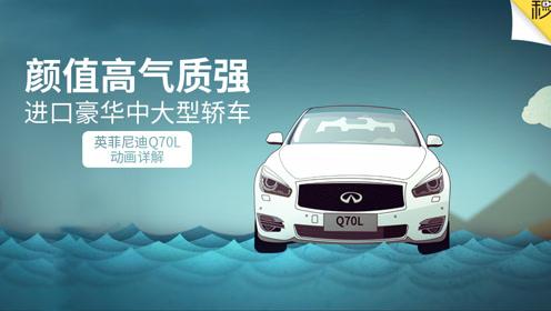 颜值高气质强 进口豪华中大型轿车Q70L动画详解