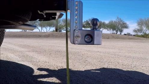 做工精良的汽车拖车钩,可调整高度