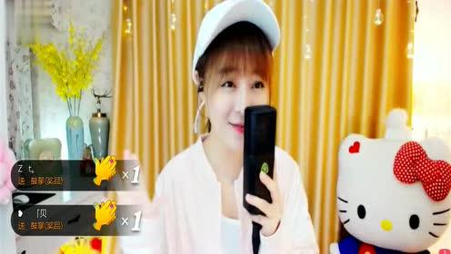 YY人气主播小蹦演唱《天在下雨我在想你》小蹦美女的风格就是